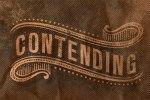 contending