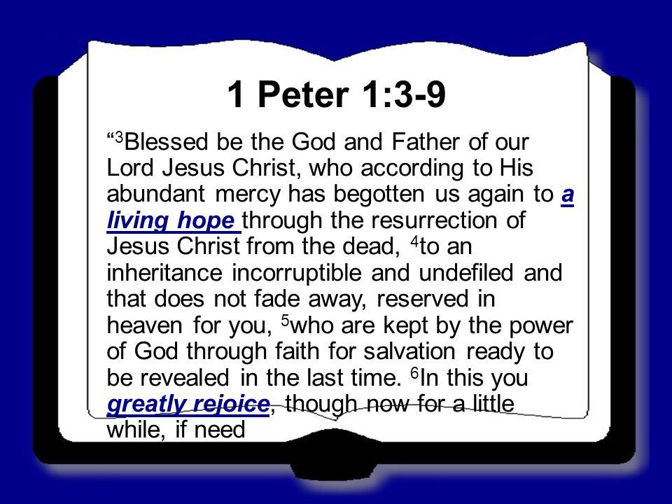 1+Peter+1 3-9