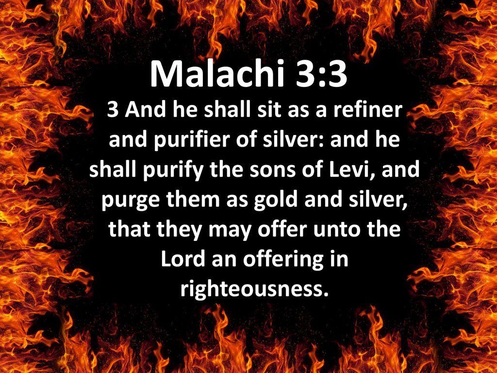 Malachi 3 3