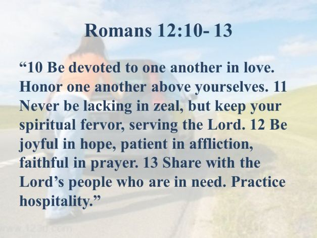 romans 12 10 13