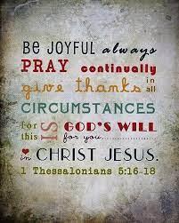 1 Thessalonians 5:16-18 (NIV)... - Deaf Ministries Worldwide | Facebook